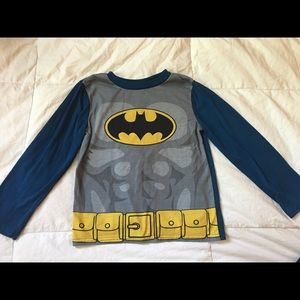 Boys Batman Pijama Top with Detachable Cape 🦇